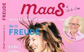 Anne-Maria Apelt im Maas Magazin